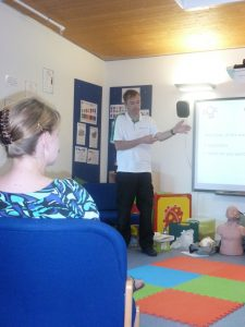 first aid course, paediatric first aid, first aid training, childminders, nanny, surestart, EYFS first aid, Ofsted first aid, fusion training, sam keates